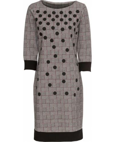 Платье трикотажное платье-комбинация Bonprix