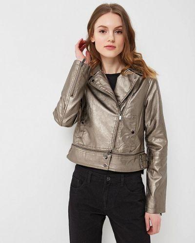 Серая куртка B.style