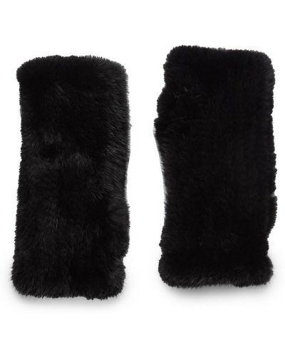 Rękawiczki bez palców - czarne La Fiorentina