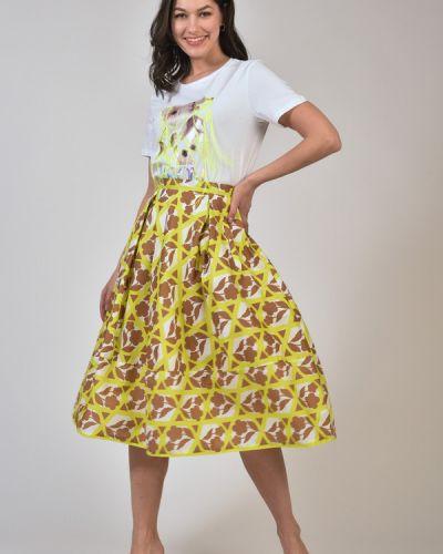 Хлопковая юбка Tricot Chic