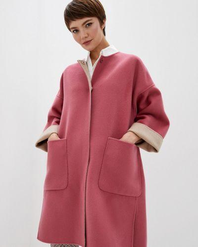 Пальто демисезонное розовое Weekend Max Mara