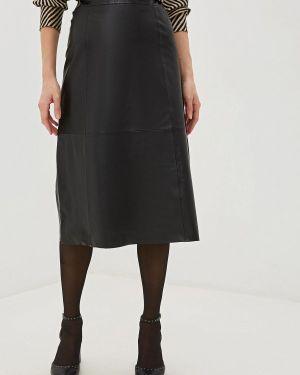 Кожаное платье Selected Femme