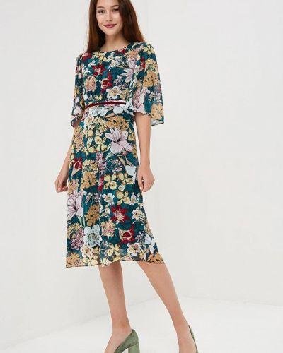 Платье с длинными рукавами осеннее Zarina