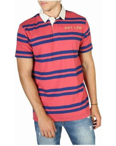 Czerwona t-shirt Hackett