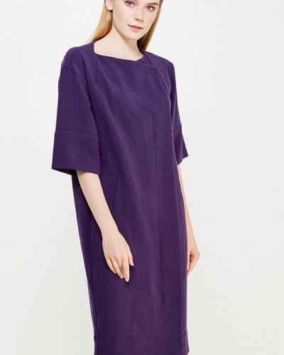 Фиолетовое повседневное платье Ecapsule