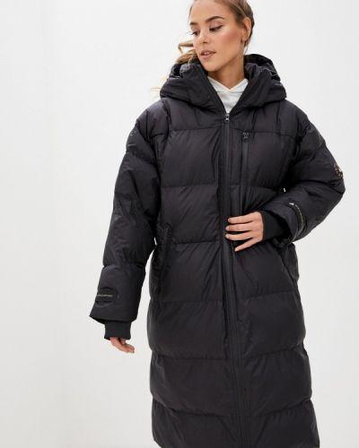 Теплая черная зимняя куртка Adidas By Stella Mccartney