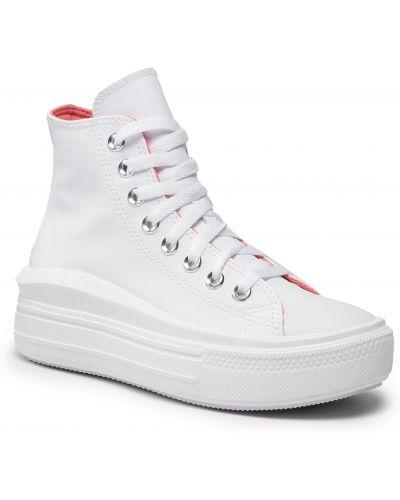 Trampki - białe Converse