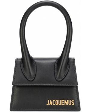 Маленькая сумка кожаная сумка-тоут Jacquemus
