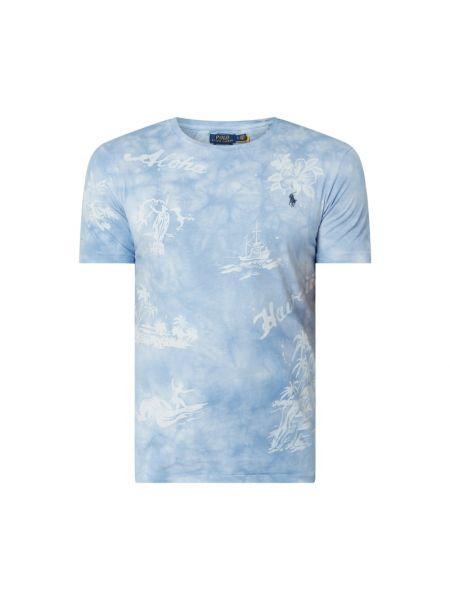 Bawełna niebieski koszula z dekoltem okrągły Polo Ralph Lauren