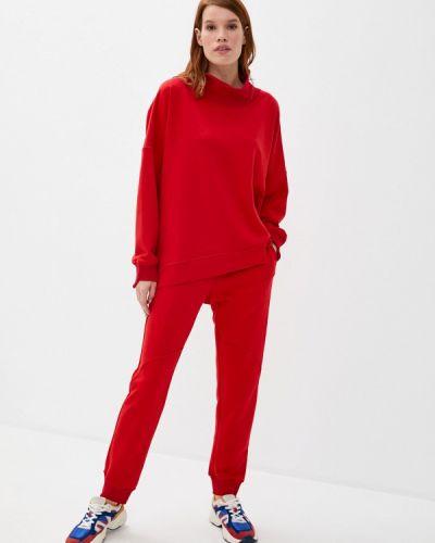 Красный костюмный спортивный костюм Sitlly