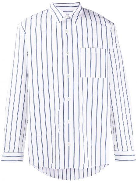 Koszula klasyczna długa niebieski A.p.c.