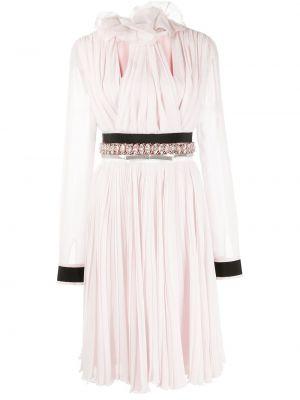 Шелковое платье макси - розовое Giambattista Valli