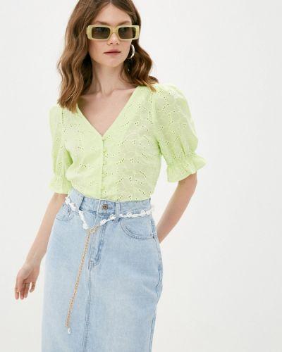 Блузка - зеленая Twist & Tango