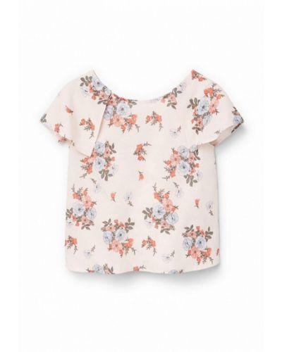 Розовая рубашка Mango Kids
