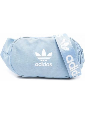 Niebieski pasek z paskiem Adidas