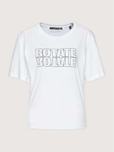 Biała t-shirt Rotate