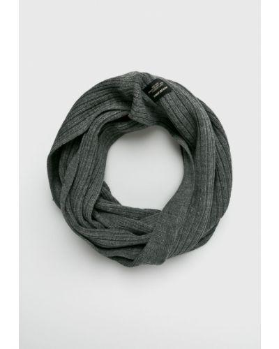 Серый шарф трикотажный Jack & Jones
