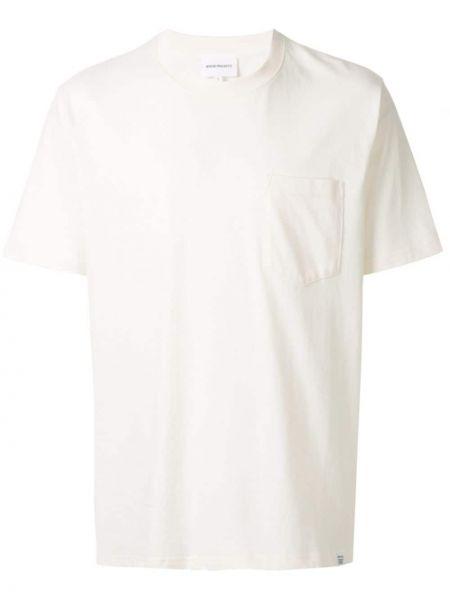 Koszula krótkie z krótkim rękawem klasyczna z kieszeniami Norse Projects