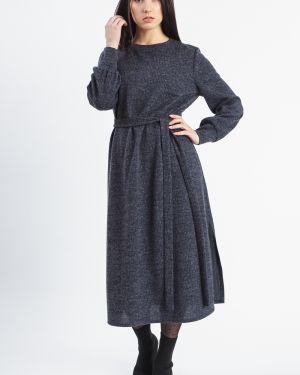 Платье с поясом со складками трапеция Lacywear