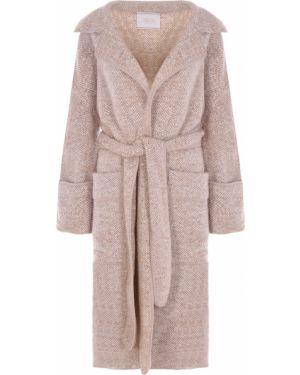 Пальто из альпаки - бежевое Tak.ori