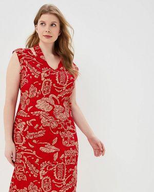 Платье красный Louitex