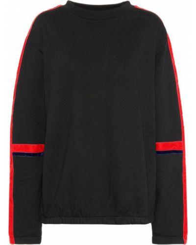 Черный спортивный свитер Public School