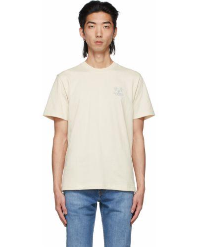 Niebieski t-shirt krótki rękaw bawełniany Carne Bollente