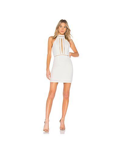 Платье мини облегающее сетчатое By The Way.