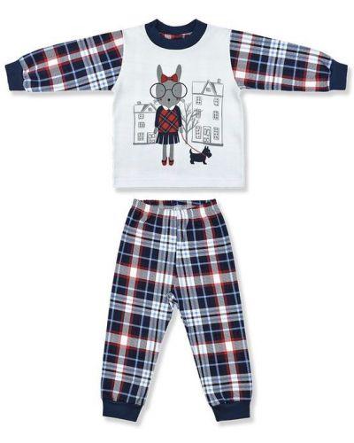 Брюки пижамные хлопковые лео