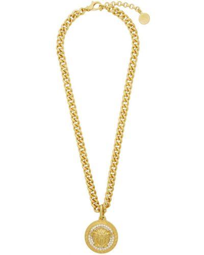 Ожерелье золотое Versace