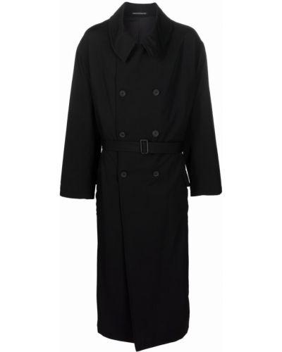 Płaszcz przeciwdeszczowy - czarny Yohji Yamamoto