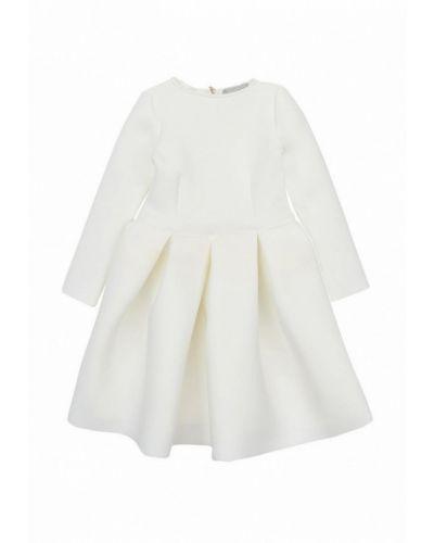 Повседневное белое платье Kids Couture