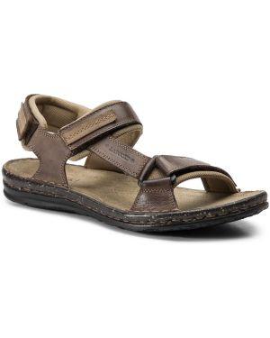 Sandały żółty Lasocki For Men