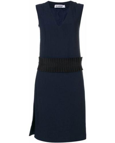 Платье из вискозы шелковое Jil Sander