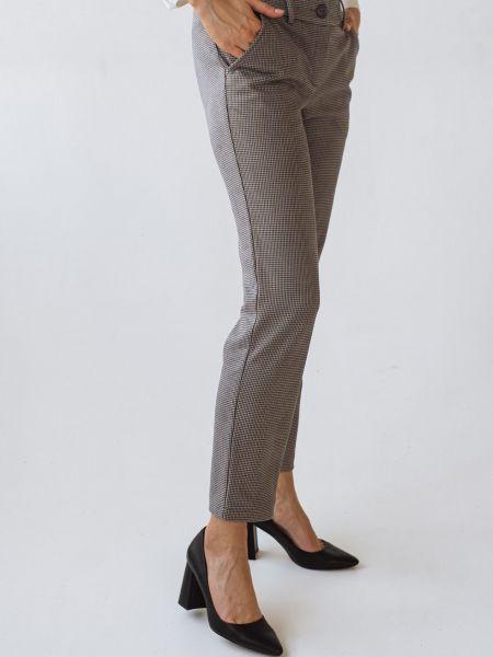Коричневые брюки Vovk