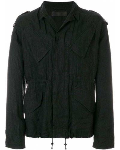 Куртка черная льняная Haider Ackermann