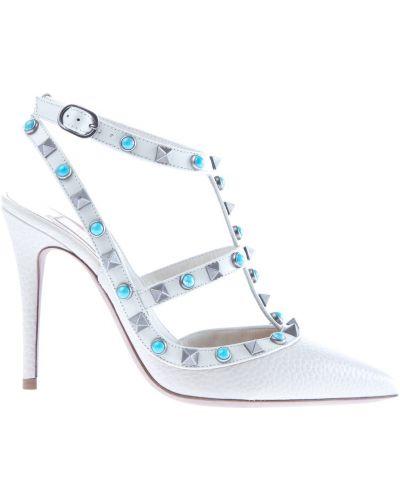 Кожаные туфли Valentino