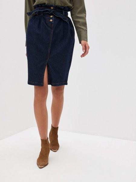 Синее джинсовое платье Vilatte