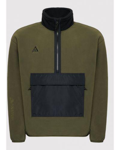 Zielona bluza polarowa Nike