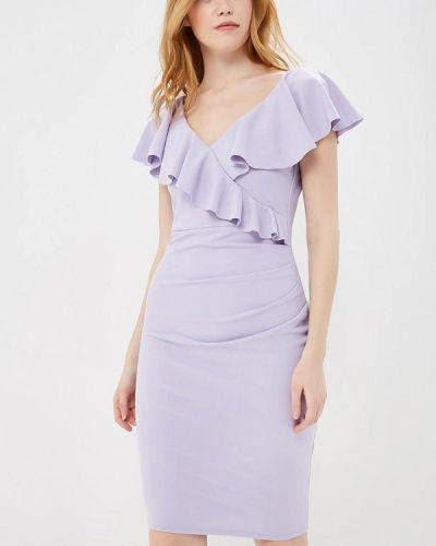 Фиолетовое платье весеннее City Goddess