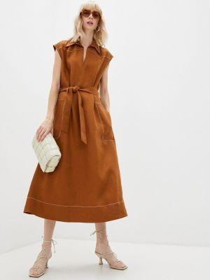 Повседневное платье - коричневое Paul & Joe