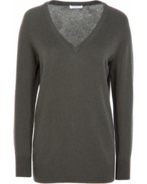 Пуловер с V-образным вырезом кашемировый Equipment