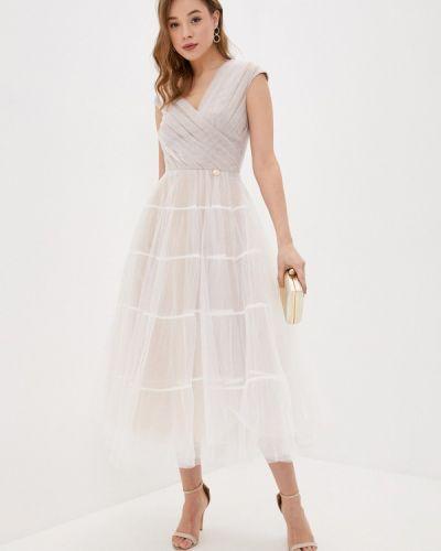 Белое вечернее платье Rich & Naked
