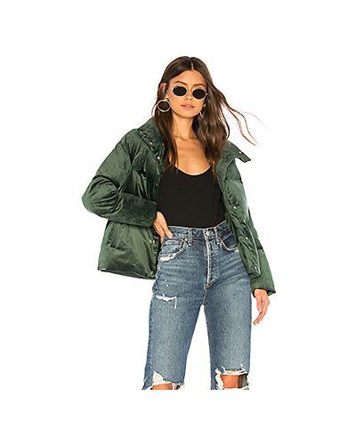 Куртка с карманами зеленая On Parle De Vous
