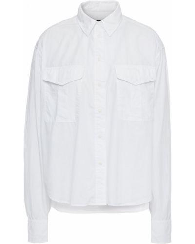 Biała koszula bawełniana zapinane na guziki Rag & Bone