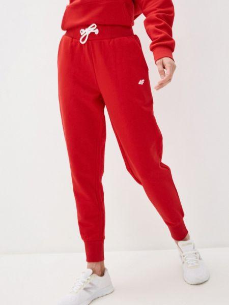 Красные спортивные брюки 4f