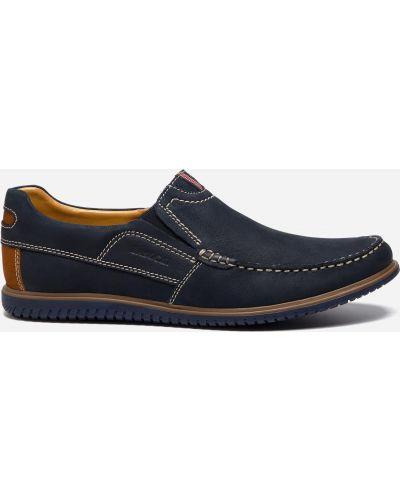Синие ботинки Lasocki