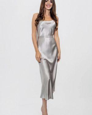 Серебряное платье Kristina Méndez Couture