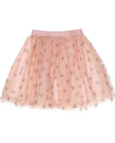 Юбка из фатина - розовая Bonpoint