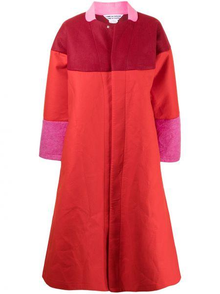 Пальто оверсайз - красное Comme Des Garçons Comme Des Garçons
